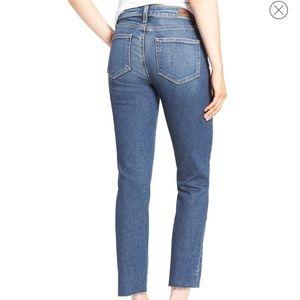 Paige Jacqueline High Rise Straight Leg Jean 26
